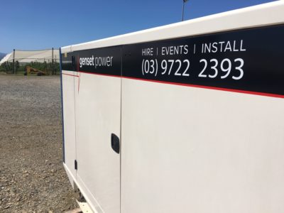 medium generator rental