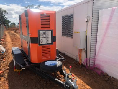 small generator for hire