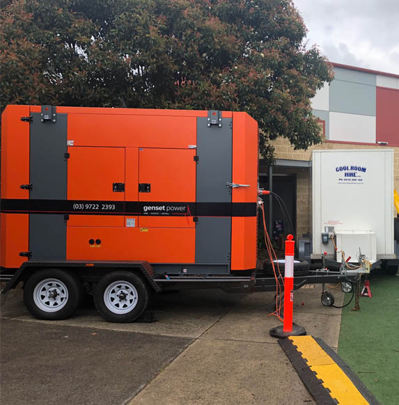 small generator for hire melbourne